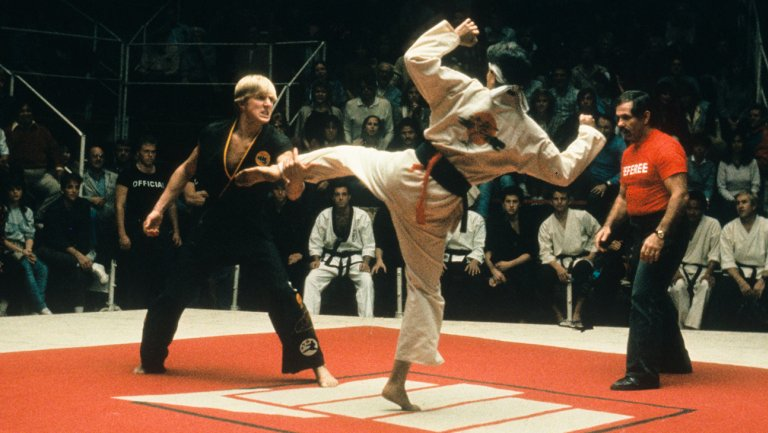 The Karate Kid vs  The Karate Kid Part II - The Movie Elite