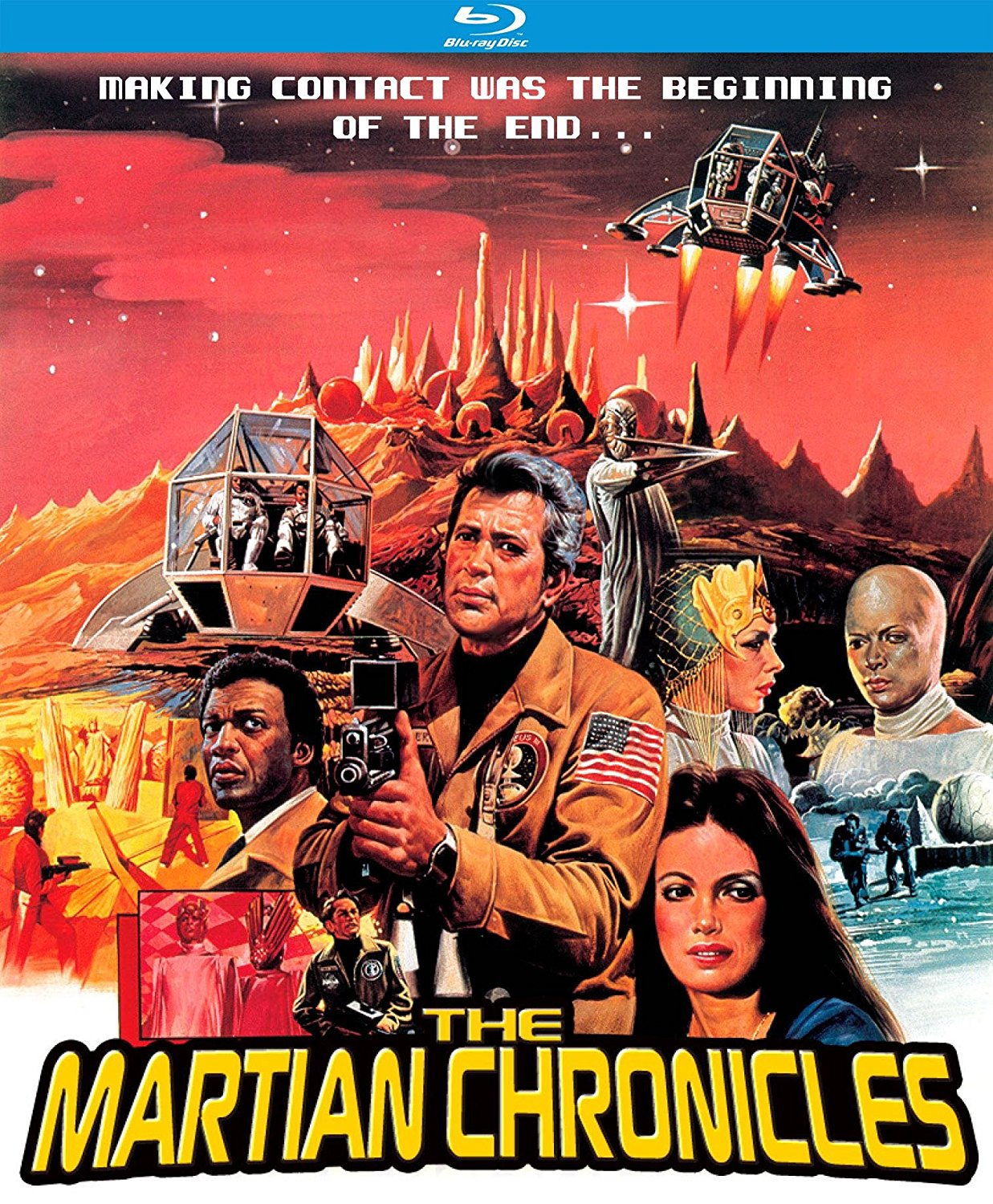 the martian chronicles  1980  kino lorber blu ray review
